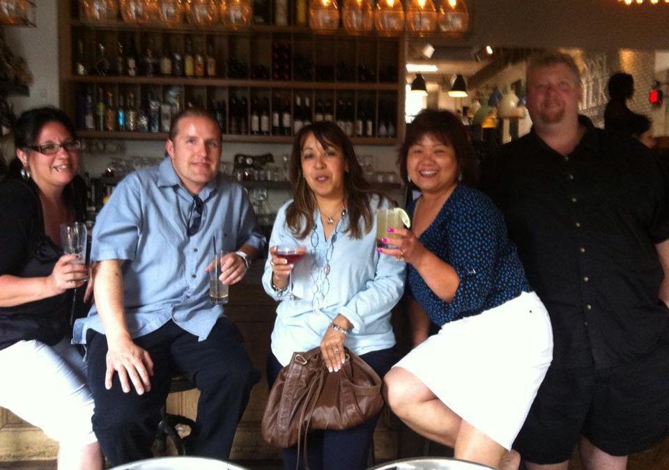 Simply Elegant's Crew at Calgary's Model Milk Restaurant