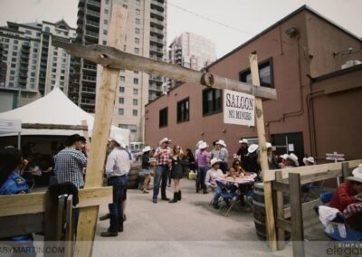 events calgary stampede corporate party MG 7417 web