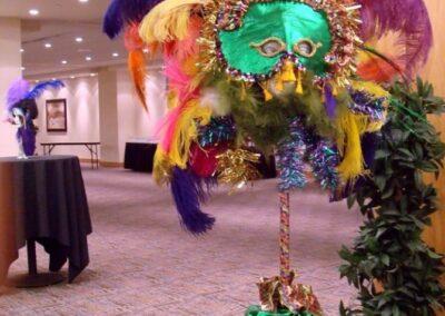 decor calgary corporate event decorations Golder Mask
