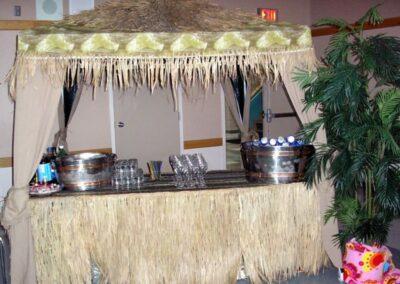 decor calgary event decorations Tiki Hut Decor for bar services