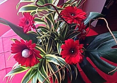 event flowers Red Pearls72