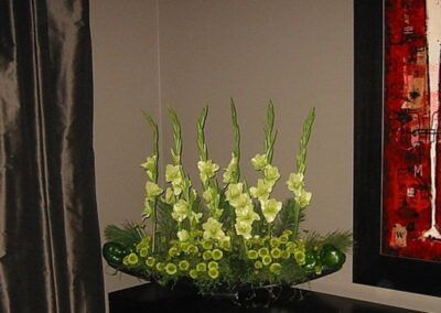 office flowers Green Gladiolas FFAR03472