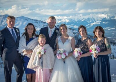permanent botanicals kicking horse mountain wedding Leona Rob abarrett photography 5 20772