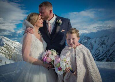 wedding flowers kicking horse mountain wedding Leona Rob abarrett photography 5 232 172