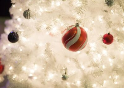 Christmas party decorations at events in Calgary