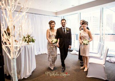 decor calgary wedding winter woodland Wedding 1 25