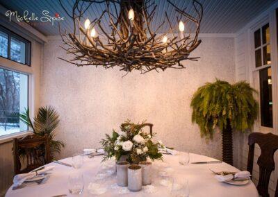 decor calgary wedding winter woodland Wedding 1 40 1