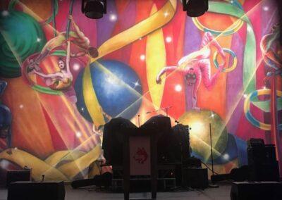 decor cirque du soleil style Backdrop Closeup 172