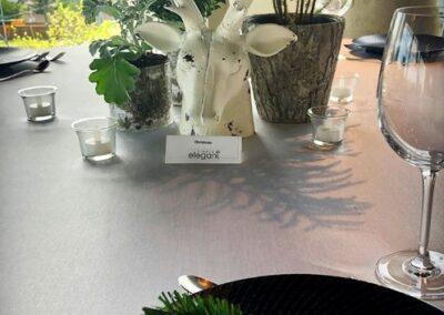 decor skyline bday party Christmas table72