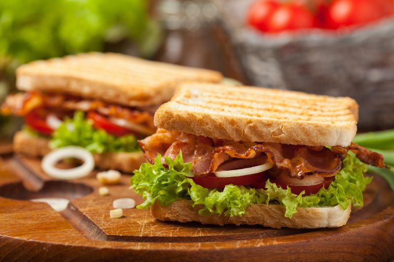 Breakfast and lunch catering in Calgary - two tasty sandwiches
