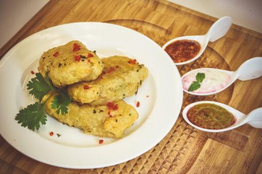 Chimichurri Chicken Empanada - Mad Peter's Street Eatery - Calgary, AB
