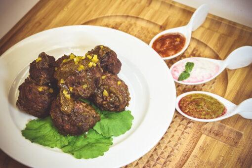 Jamacian Jerk Meatballs - Mad Peter's Street Eatery - Calgary, AB