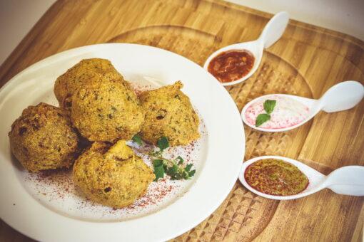 Smoked Brisket Meatballs - Mad Peter's Street Eatery - Calgary, AB