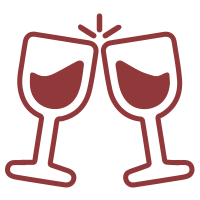 Wine pairings icon