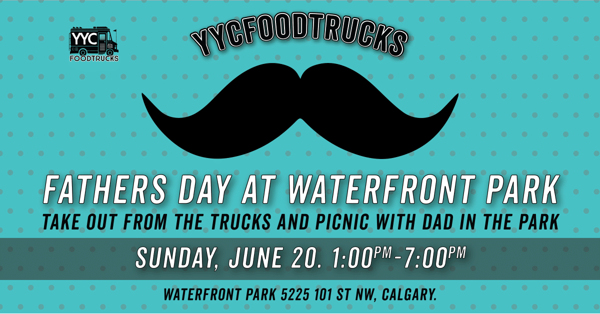 Father's Day 2021 at Waterfront Park in Calgary