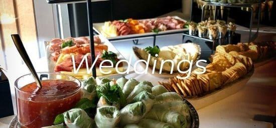 Wedding buffet stand